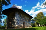 Painted Monasteries from Bucovina Romania 14