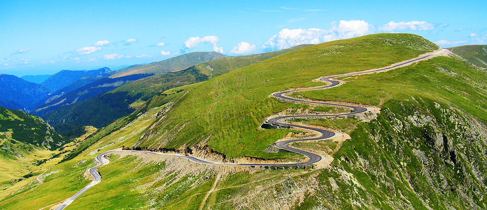 Transalpina - the road in the sky