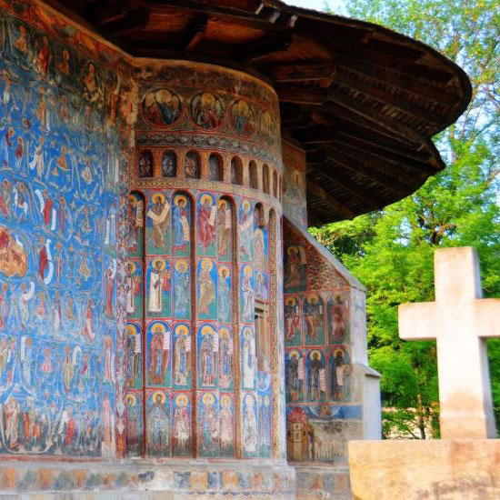 Voronet Monastery - the Sistine Chapel of the East