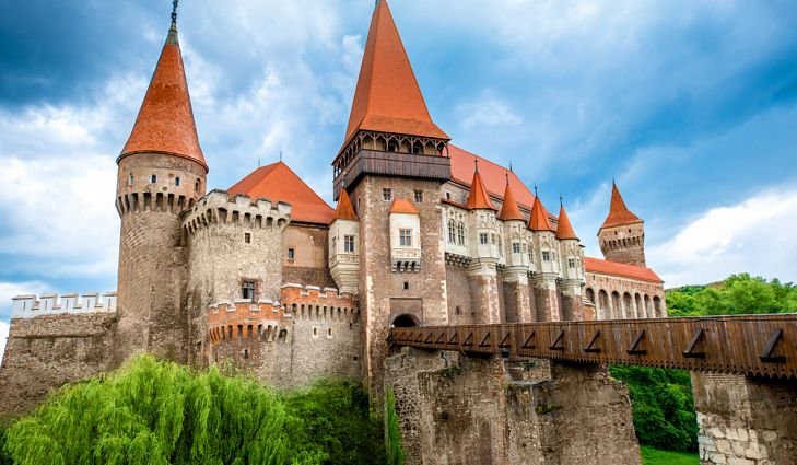 Corvin Castle - one of the largest castle in Europe