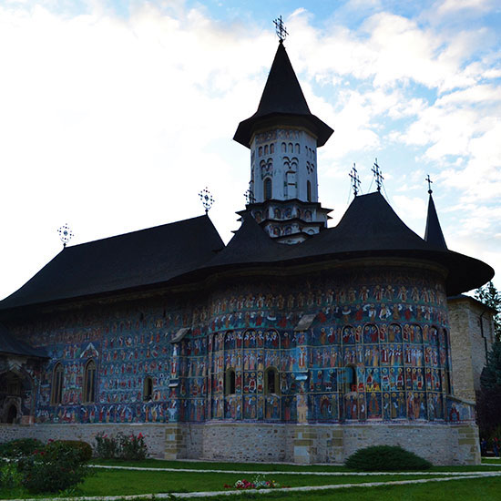Bucovina - the holy land of painted monasteries