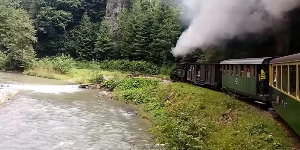 "Journey with the ""Mocanita"" Steam Train in Maramures"